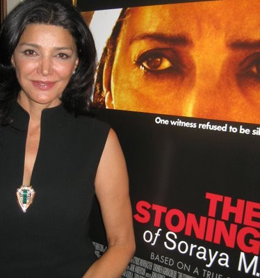 "Shohreh Aghdashloo at the New York press day for ""The Stoning of Soraya M."""