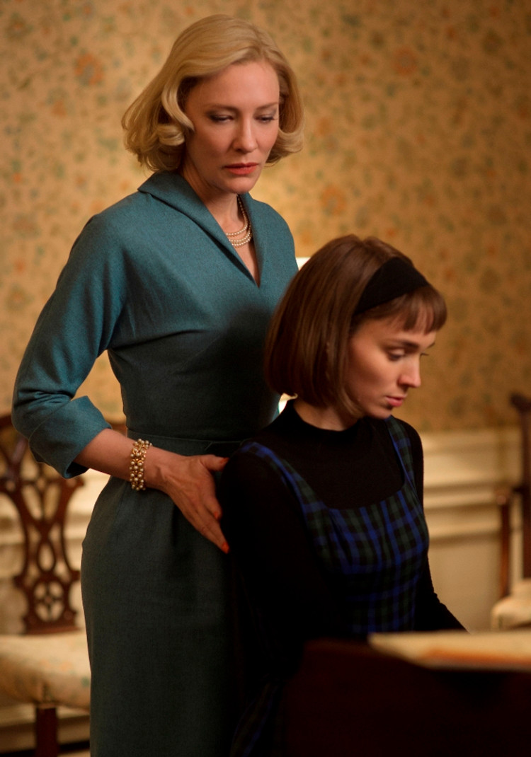 (L-R) CATE BLANCHETT and ROONEY MARA star in CAROL