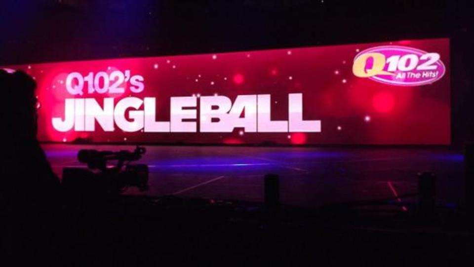 Q102 Jingle Ball at the Wells Fargo Center, Philadelphia, PA December 5, 2012