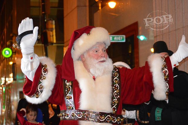 Santa Claus at Macy's