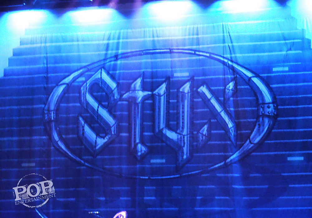 Styx playing at the American Music Theater in Lancaster, PA, September 19, 2014.  Photo copyright 2014 Ally Abramson.