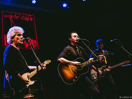 Richard Barone, Steve Addabbo & Eric Bazilian – World Café Live – Philadelphia, PA – June 17, 20