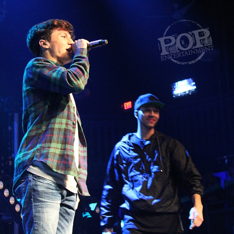 Kalin & Myles at the Electric Factory in Philadelphia. Photo copyright 2015 Rachel Disipio.