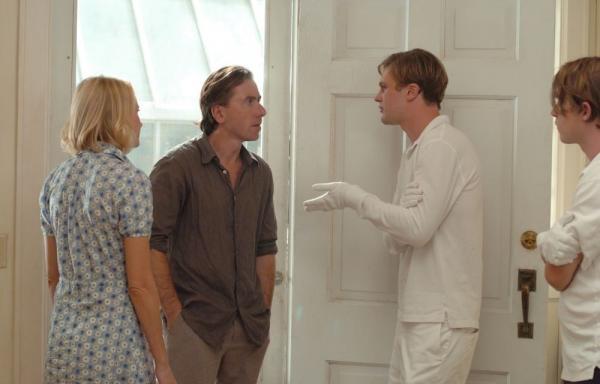 "Naomi Watts, Tim Roth, Michael Pitt and Brady Corbet in ""Funny Games."""