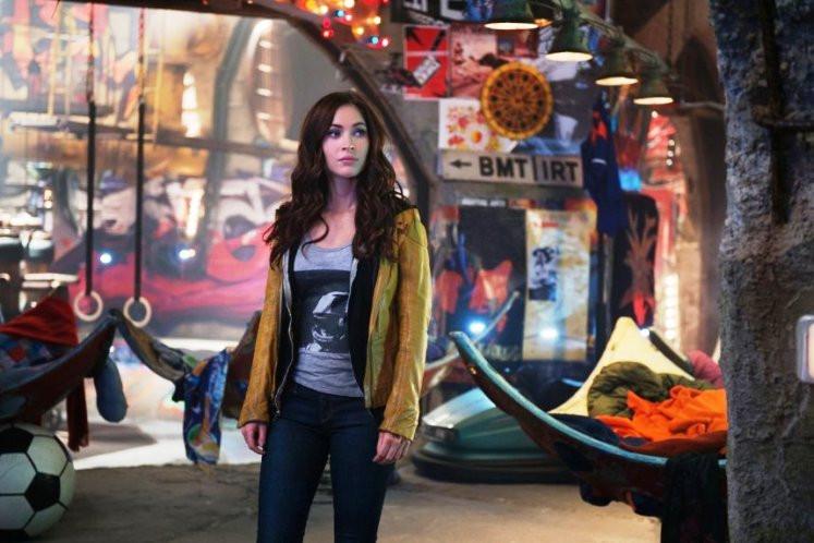 """Megan Fox stars in """"Teenage Mutant Ninja Turtles."""""""