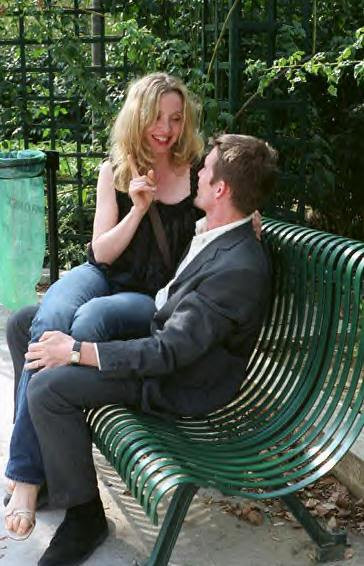 """Julie Delpy & Ethan Hawke star in """"Before Sunset."""""""