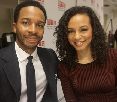 André Holland and Carra Patterson Drive August Wilson's Jitney onto The Broadway Stage
