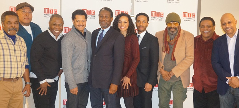 """Cast and crew of """"Jitney"""""""