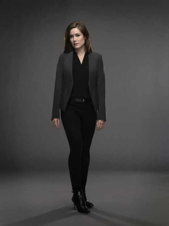 "Megan Boone plays Elizabeth Keen on the hit NBC series ""The Blacklist."""