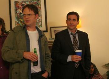 """Rainn Wilson and Steve Carell in """"The Office."""""""