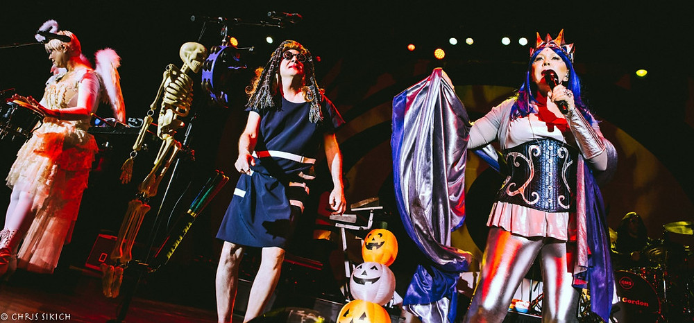 The B-52's Halloween Bash – The Fillmore – Philadelphia, PA – October 30, 2016 – Photo by Chris Sikich © 2016