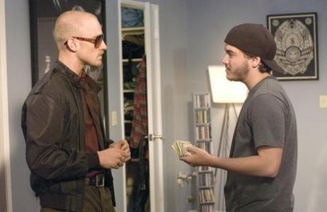 "Ben Foster and Emile Hirsch star in ""Alpha Dog."""