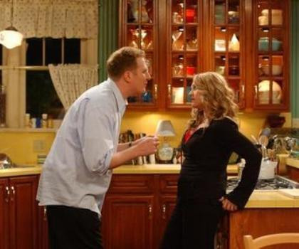 """Michael Rapaport and Anita Barone in """"The War at Home"""""""