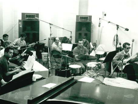 Denny Tedesco, Hal Blaine and Don Randi – Building Up the Wrecking Crew
