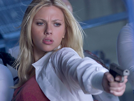 Scarlett Johansson – Escaping The Island
