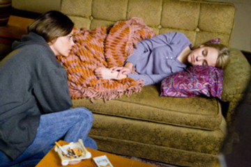 "Charlize Theron and AnnaSophia Robb star in ""Sleepwalking."""