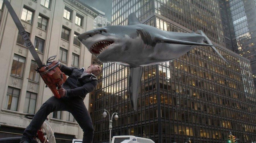 "Ian Ziering stars in ""Sharknado 2: The Second One."""
