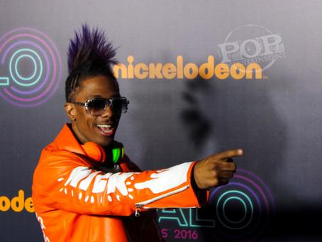 Backstage at the Nickelodeon Halo Awards