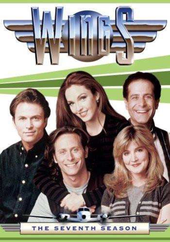 "Tim Daly, Amy Yasbeck, Tony Shalhoub, Steve Weber and Crystal Bernard in ""Wings"""