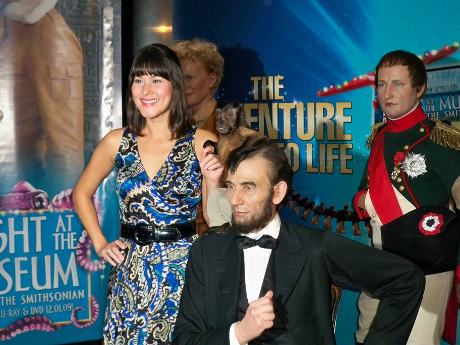 Mizuo Peck at the Night at a Wax Museum on December 1, 2009 at Madame Tussaud's Wax Museum.