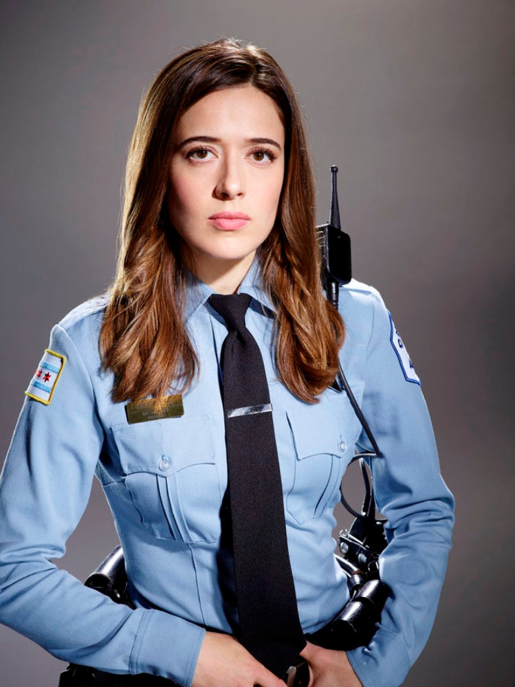 "Marina Squerciati stars in ""Chicago PD"""