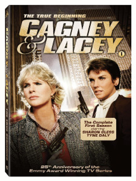 "Tyne Daly and Sharon Gless in ""Cagney & Lacey: The Complete First Season."""