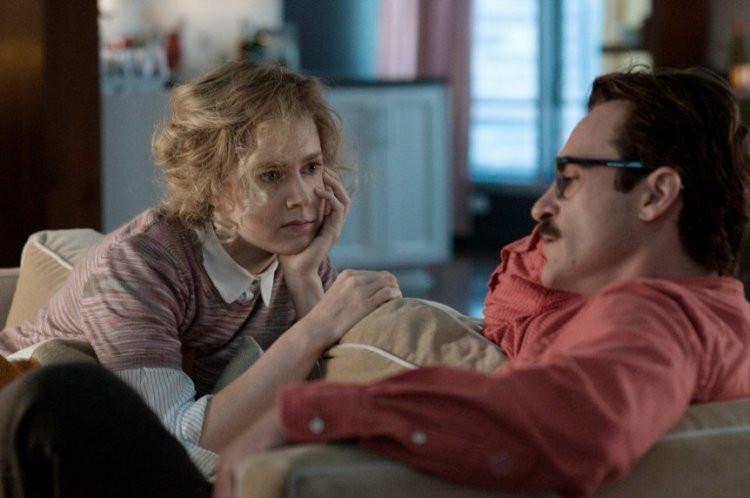 Amy Adams and Joaquin Phoenix star in 'Her.'