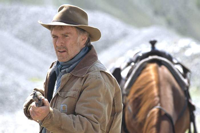 """Robert Redford in """"An Unfinished Life."""""""