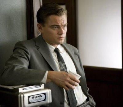 "Leonardo DiCaprio in ""Revolutionary Road."""