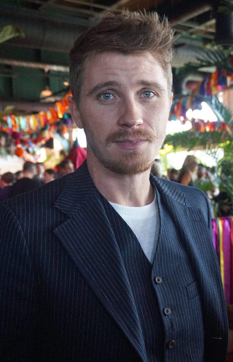 Garrett Hedlund at the NY Press Day for PAN.