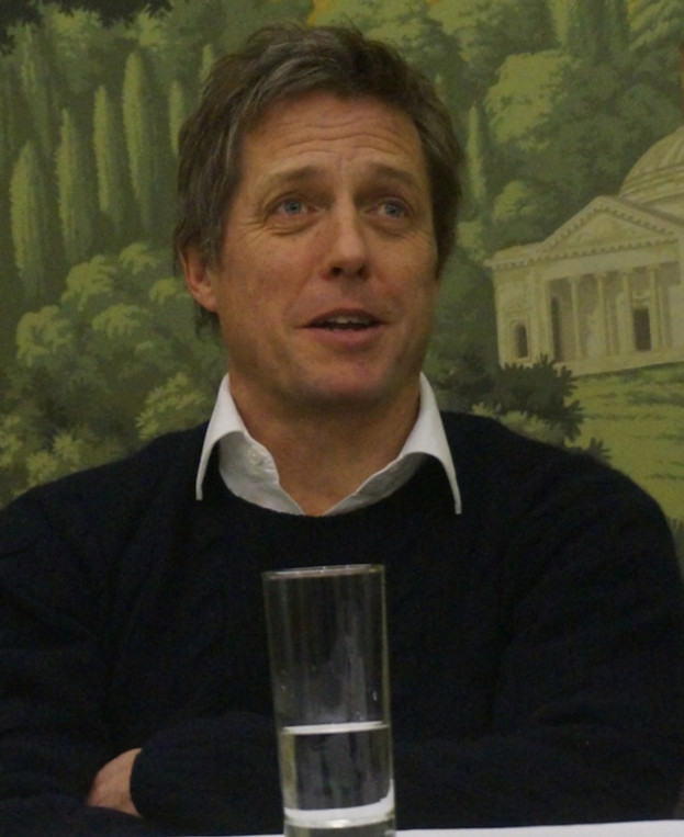 """Hugh Grant at the New York Press Day for """"The Rewrite.""""  Photo copyright 2015 Brad Balfour."""