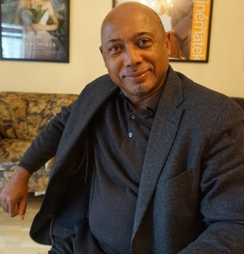 """Raoul Peck, director of """"I Am Not Your Negro,"""" in New York."""