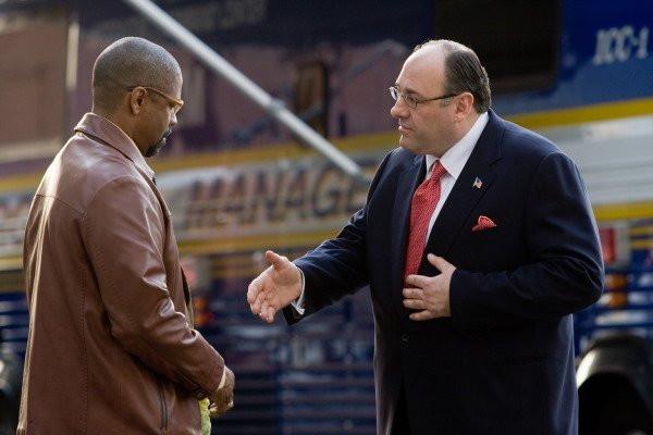 """Denzel Washington and James Gandolfini in """"The Taking of Pelham 1-2-3."""""""