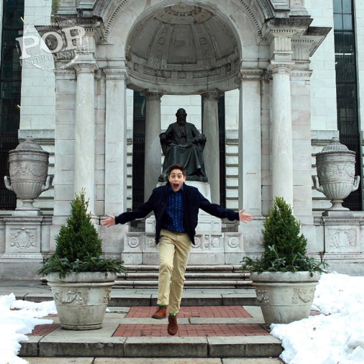 Jake Marcionette in New York.  Photo by Nick Bergmann © 2016