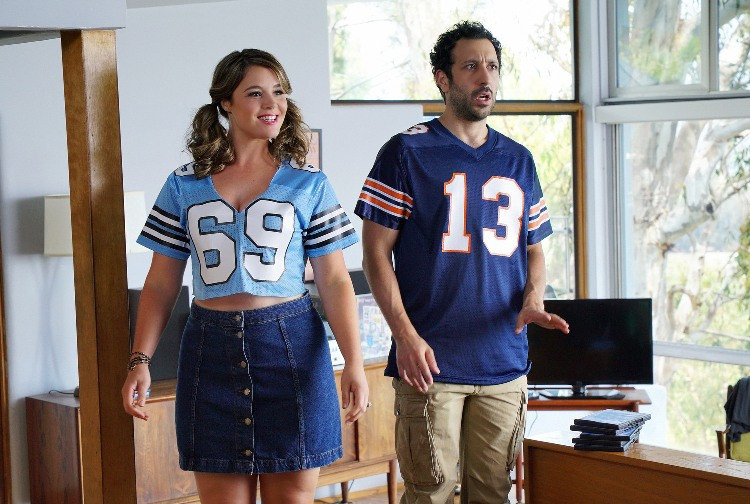 Kether Donohue and Desmin Borges star in YOU'RE THE WORST.