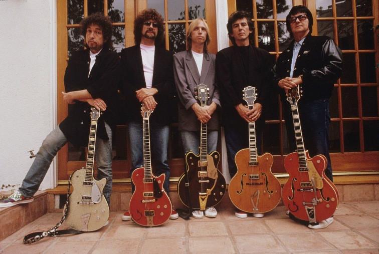 The Traveling Wilburys in 1988.