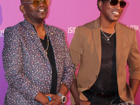 On the Red Carpet at the Isina Global Gala