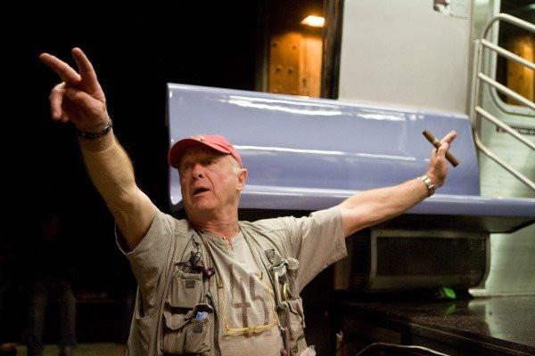 "Tony Scott making ""The Taking of Pelham 1-2-3."""