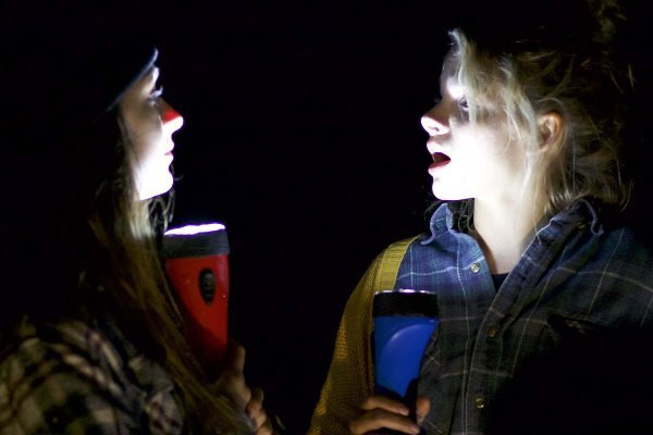 Andrea Russett and Laine Neill in Sickhouse.