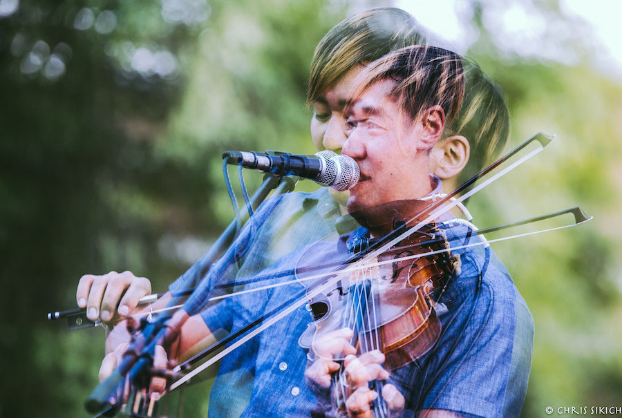 Kishi Bashi – Athfest – Pulaski St. Stage – Athens, GA – June 26, 2016 – Photo by Chris Sikich © 2016