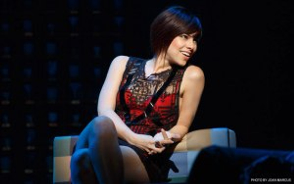 """Krysta Rodriguez stars in the new Broadway musical """"First Date."""""""