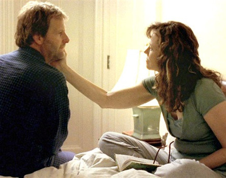 "Jeff Daniels and Sigourney Weaver in ""Imaginary Heroes."""