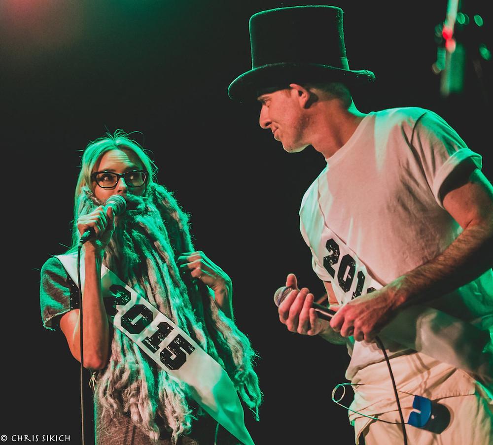 Aimee Mann & Ted Leo - Union Transfer - Philadelphia, PA - December 11, 2015 Photo by Chris Sikich © 2015.