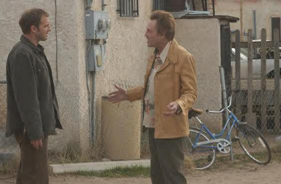 "Josh Lucas and Christopher Walken star in ""Around the Bend."""