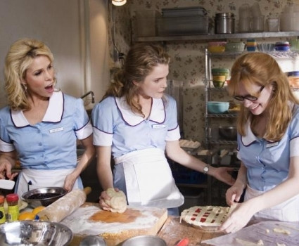 """Cheryl Hines, Keri Russell and Adrienne Shelly in """"Waitress."""""""