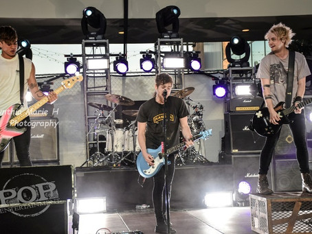 5 Seconds of Summer – Hollywood and Highland Center – Hollywood, CA – October 23,