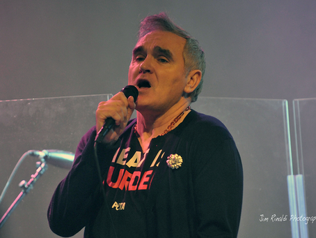 Morrissey – Non Comm – World Café Live – Philadelphia, PA – May 14, 2019 (A PopEntertainment.com Con