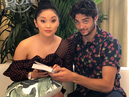 Lana Condor and Noah Centineo Video Interview!