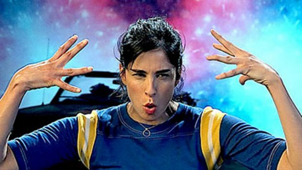 "Sarah Silverman in ""Jesus is Magic."""