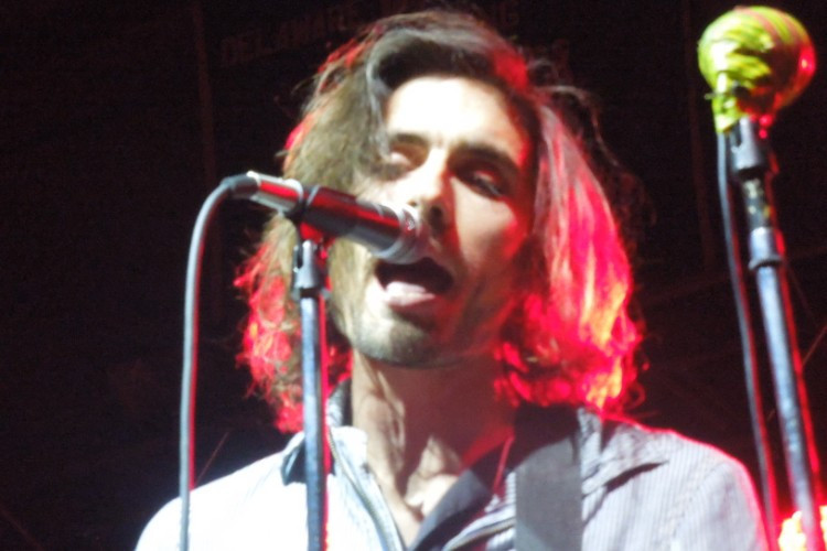 Tyson Ritter of The All-American Rejects - Delaware Valley College - Doylestown, PA - April 25, 2014